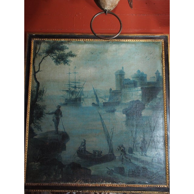 18th Century French Trumeau with Grisaille Painting - Image 3 of 8