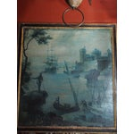 Image of 18th Century French Trumeau with Grisaille Painting