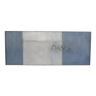 Oasis. 2017 Original Oil, Pastel, and Pencil by C. Damien Fox.