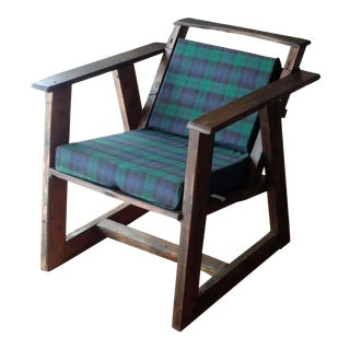 Mission Style Highland Armchair