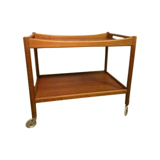 Hans Wegner Teak Bar Cart