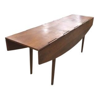 Parallel Drop-Leaf Table by Barney Flagg for Drexel