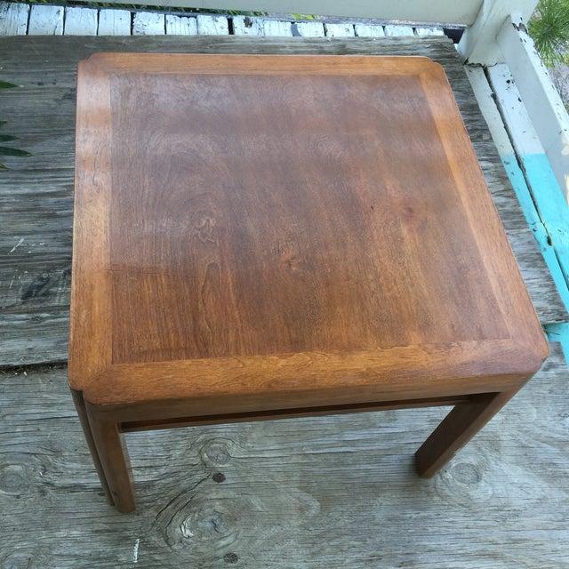 Mid-Century Walnut Side Table - Image 4 of 7