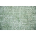 "Image of Distressed Oushak Carpet - 6'8"" X 9'7"""