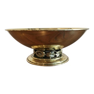Vintage Swedish Brass Bowl