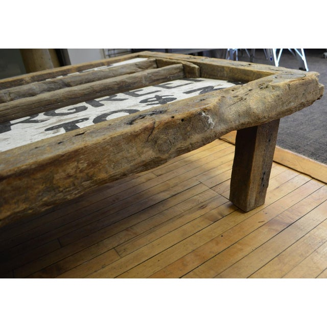 Barn Wood Coffee Table Chairish
