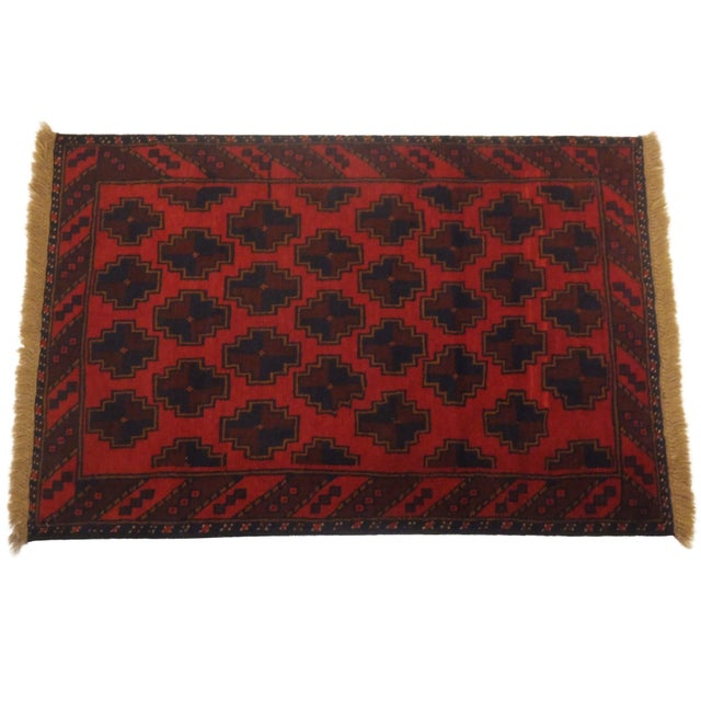 Baluch Red Rug - 3' x 5' - Image 1 of 6