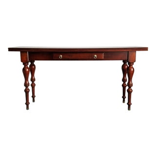 Ethan Allen Mahogany Sofa Table/Desk