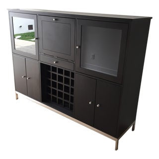 Room & Board Custom Bar Cabinet