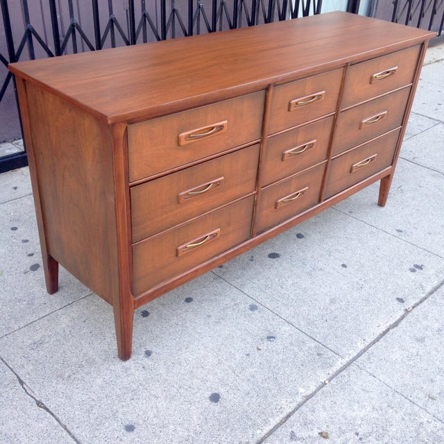 Mid Century Modern 9 Drawer Dresser Chairish
