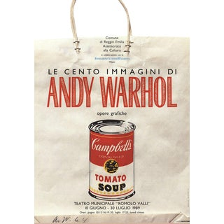 Andy Warhol Shopping Bag 1989 Poster