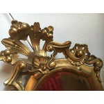 Image of Italian Gilt Carved Mirrors - A Pair