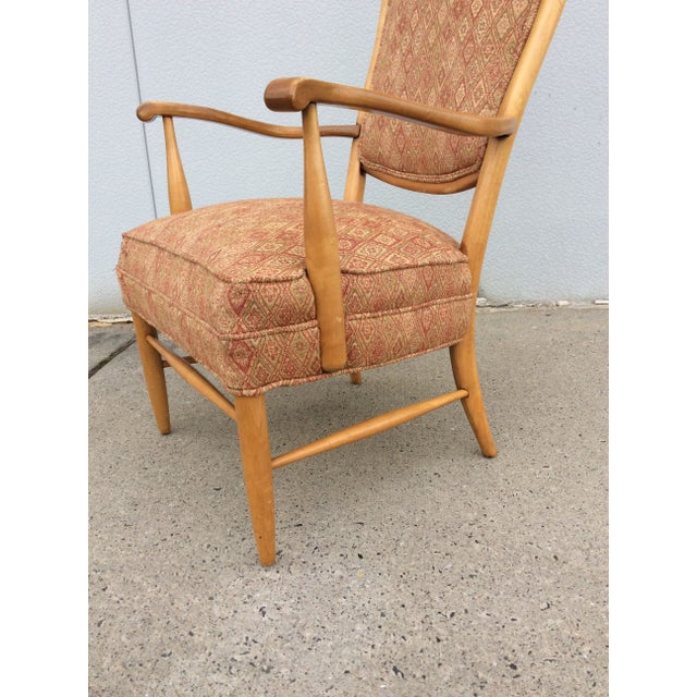 Edward Wormley High Back Lounge Chair - Image 7 of 8