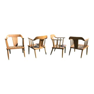 Tomlinson Arm Chairs - Set of 4