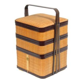 Vintage Japanese Stacking Box