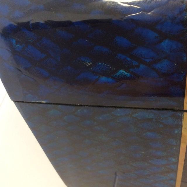 Maitland- Smith Lapis & Penshell Box - Image 3 of 11