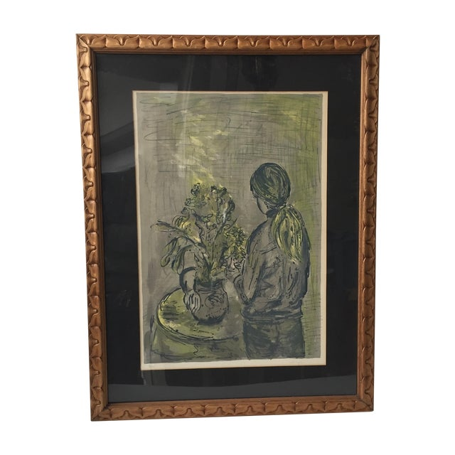 Image of Woodframed Lithograph