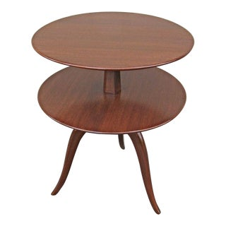 Tiered Mahogany table by Paul Frankl for Brown Saltman