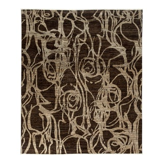 """Gabbeh Hand Knotted Area Rug - 8'2"""" X 9'9"""""""