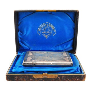 Anderson & Randolph Sterling Silver Card Case
