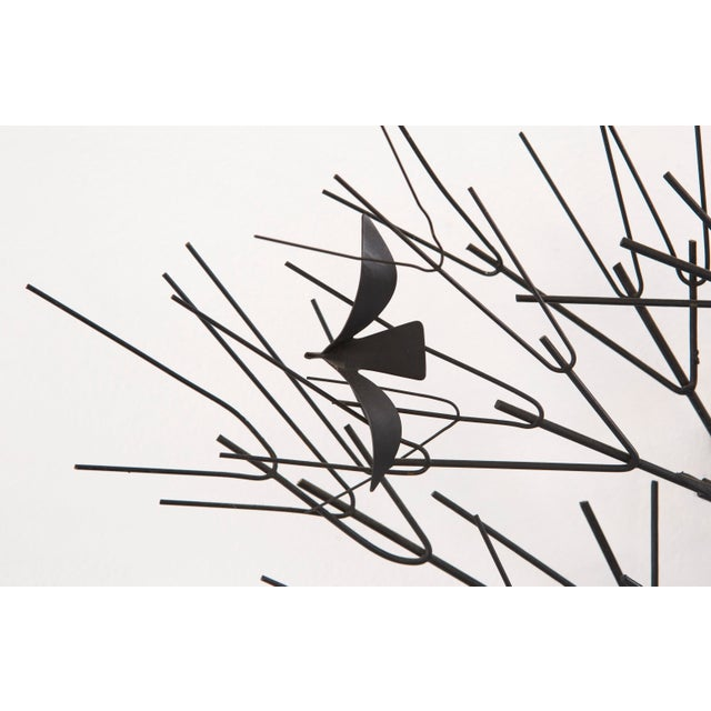 C. Jere Wall Sculpture 'Birds & Trees' - Image 4 of 8