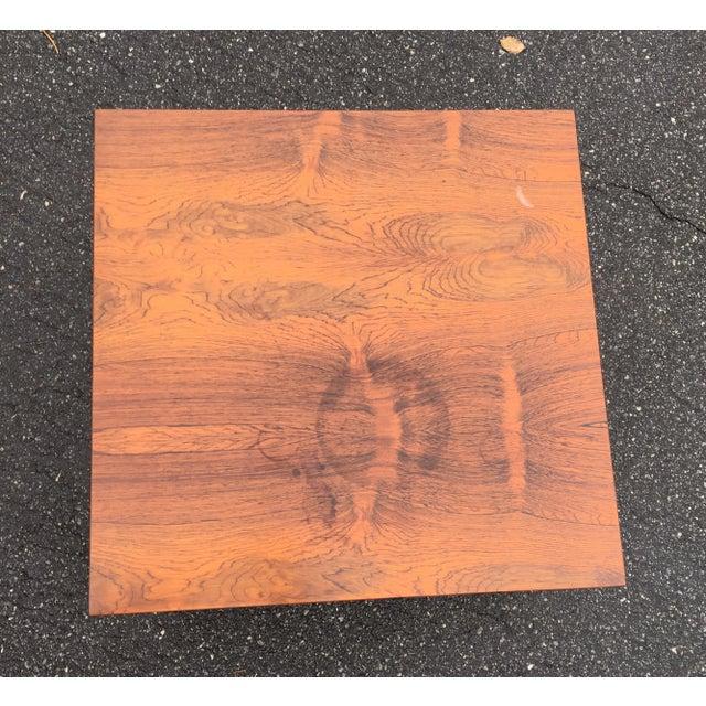 Image of Milo Baughman Thayer Coggin Rosewood / Ebony Table