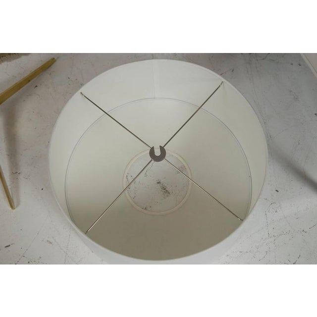 Midcentury Brass and Formica Table Floor Lamp - Image 4 of 6
