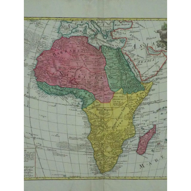 1778 Africa Map by Lotter - Image 3 of 10