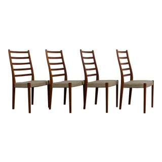 Svegards Markaryd of Sweden Teak Dining Chairs - Set of 4