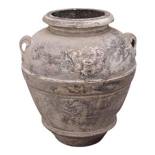 Italian pottery urn