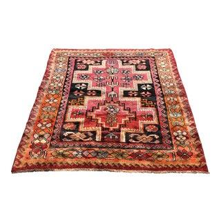 Hand Woven Wool Persian Rug - 5′4″ × 6′5″