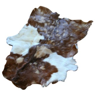 Goat Hide Area Rug - 1′11″ × 2′6″