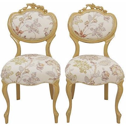 Victorian Balloon-Back Parlor Chairs - A Pair - Image 1 of 7