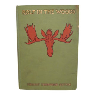 """""""Rolf in the Woods"""" by Ernest Thompson, First Edition"""