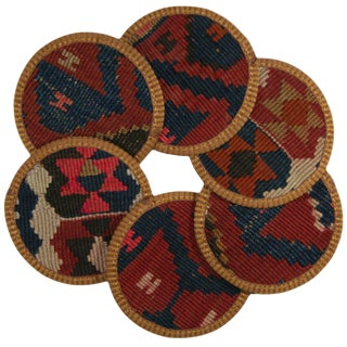 Kilim Coasters Set of 6 - Artvin