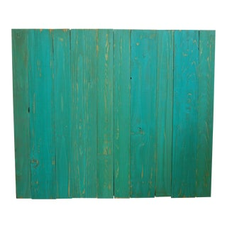 Turquoise Twin Hanger Barn Walls Headboard
