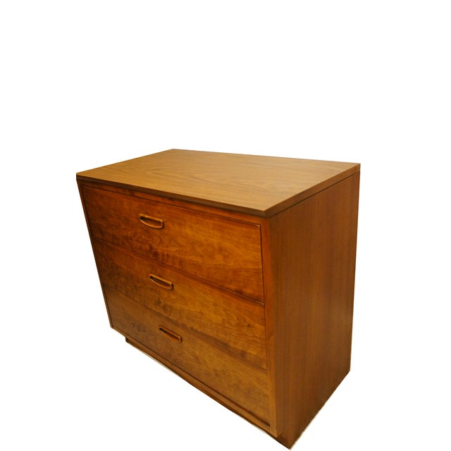 Image of Lane Danish Mid Century Modern 3 Drawer Chest/Dresser