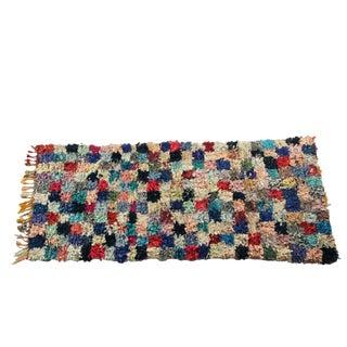 """Vintage Boucherouite Carpet - 7'2"""" X 3'4"""""""