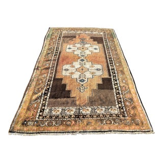 Antique Persian Kurdish Rug - 5′ × 8′3″