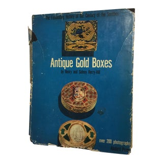 Antique Gold Boxes Henry and Sidney Berry-Hill, 1953