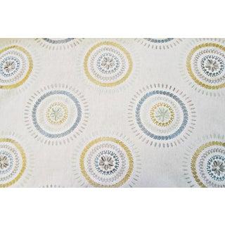 Lee Jofa Hazel Embroidery Seamist Linen Fabric - 4 Yards