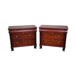 "Ethan Allen British Classics ""Daryn"" Nightstands- A Pair"