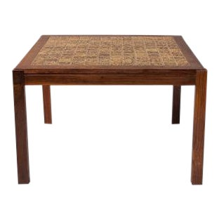 Danish Side Table by C. Rasmussen