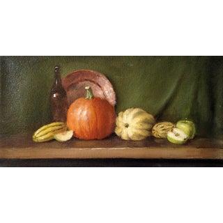 Fall Harvest Original Still Life Painting