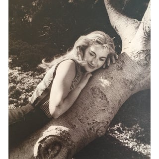 Vintage Photograph Woman 1957 Exhibited