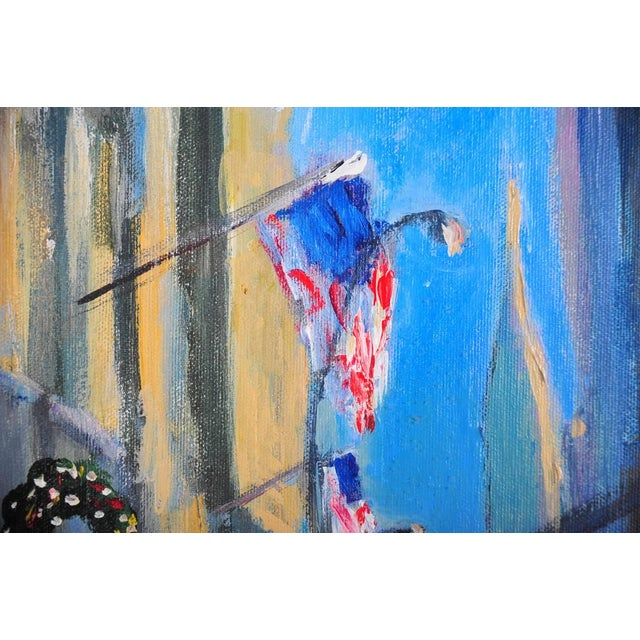 """""""Downtown Manhattan 4th July,"""" Oil Painting - Image 7 of 10"""