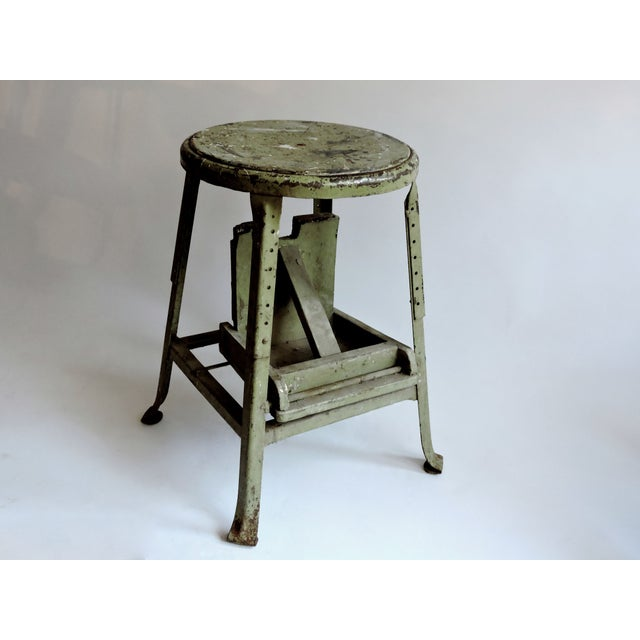 Industrial Sage Green Step Stool - Image 5 of 6