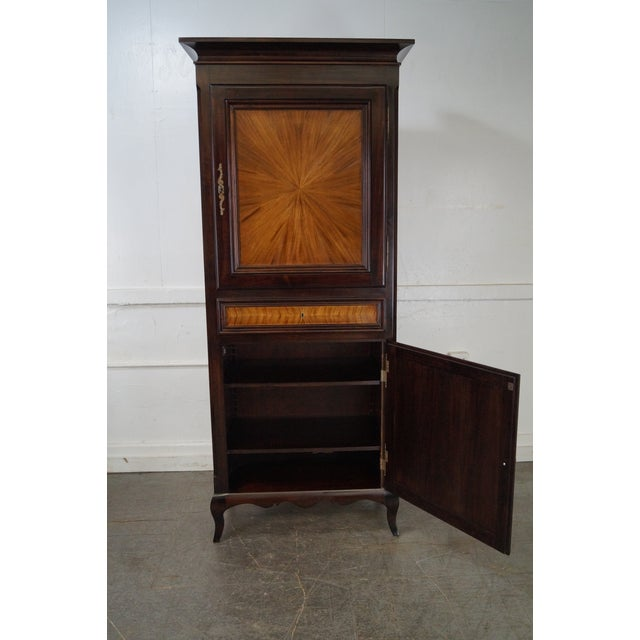 Rossi Brothers French Louis XV Style Armoire - Image 10 of 10