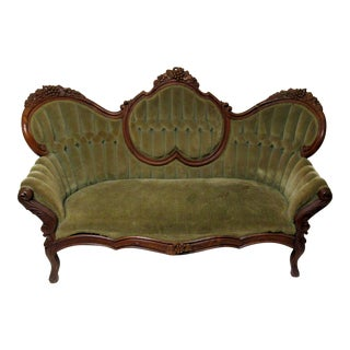 Antique Victorian Sofa or Loveseat