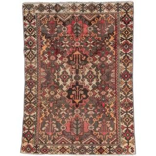 "Apadana - Vintage Persian Hamadan Rug, 4'5"" x 6'2"""